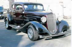 34 Chevy 5 window coupe