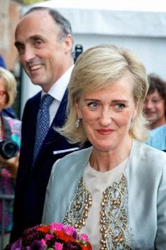 Princess Astrid and Prince Lorenz of Belgium attend the concert for the National day 2014  in Brussels, Belgium