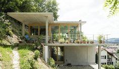 모던스타일 주택 by GIAN SALIS ARCHITEKT