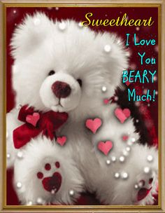 Send this cute and one of a kind ecard to your special someone. Free online A Beary Lovely Card ecards on Cute Cards Teddy Pictures, I Love You Pictures, Bear Pictures, Levi Quotes, Rita Hayward, Corazones Gif, Cute Good Morning, Rainbow Rowell, Gifs