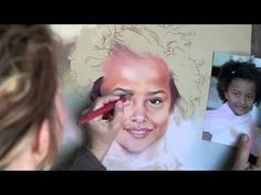 How to paint a Pastel Portrait - YouTube