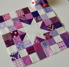 The March Aurifil Designer Block of the Month was released yesterday and I am so excited because March is my Month!!!!  And Pat Sloan was k...