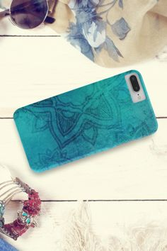 Did you know that this year's color is blue? What's your favorite color? 💙💙💙// Phone case for iPhone or Samsung. Phone Covers, Favorite Color, Grunge, Mandala, Iphone Cases, Samsung, Blue, Mobile Covers, Iphone Case