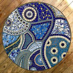 Best 9 A student mosaic mosaic mosaico mosaics mosaici table Mosaic Tile Designs, Mosaic Tile Art, Mosaic Artwork, Mosaic Patterns, Mosaic Birdbath, Mosaic Garden Art, Mosaic Pots, Mosaic Table Tops, Mosaic Tile Table