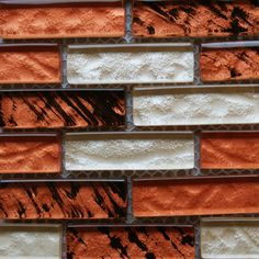 Orange Brick Tiles | Safari Mosaic Brick | Mosaic Village