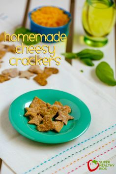Homemade Cheesy Crackers Recipe: Alternative to Goldfish Crackers!