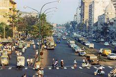 Sài Gòn 1967-1968. Những bức ảnh này được scan với độ phân giải cao, đạt độ sắc nét hiế…