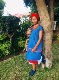 A Fatiki designs Yele/hele ka Bathu Sepedi Traditional Dresses, Traditional Fashion, Latest African Fashion Dresses, African Print Fashion, Wedding Dresses South Africa, African Attire, Queens, Summer Dresses, How To Wear