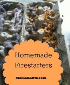 As part of our journey to self sufficiency we made fire starters. These will be great for camping or just bon-fire starting. We use egg cartons dryer lint candle wax wood chips We received 2 black garbage bags FULL of wood chips….I... #31daysofemergencypreparedness #frugal #frugalliving