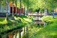 Old Rauma, Finland Summer Landscape, City Landscape, Landscape Design, Scandinavian Countries, Eastern Europe, Countries Of The World, Helsinki, Great Places, Landscape Photography