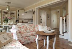 #salon #architekt #wnetrz #styl #angielski #shabby #wnetrze #poduszka #kwiaty #interior #livingroom #aranzacja #mieszkania  #pomoc #w #aranzacji #mieszkanie #pillow #english #flowers