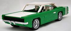 Dodge Vehicles, Lego Vehicles, Lego Cars, Amg Logo, Amazing Lego Creations, Lego Figures, Lego Worlds, Sports Sedan, Lego Projects