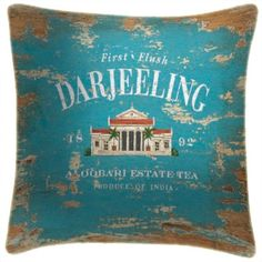 Darjeeling Tea - Martin Wiscombe - Art Print Cushions £34.99