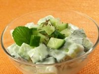 Kefir Cucumber Salad
