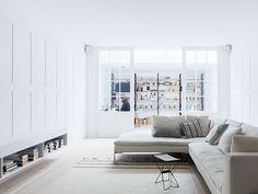 minimal interior design in london living