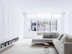minimal interior design in london living