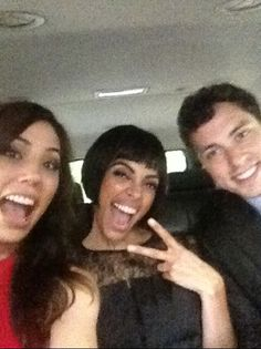 Michaela Conlin, Tamara Taylor and John Francis Daley on May 14, 2012 in NYC