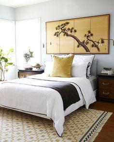 Arte japonés en la habitación