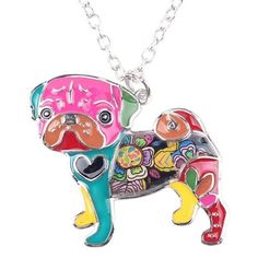 Limited Edition Pug Dog Necklace