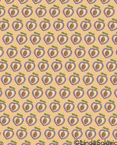 Tuitti Fruitti Pattern Collection by Linda Solovic, via Behance