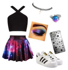 """Galaxy look"" by lea0212-1 on Polyvore featuring art"