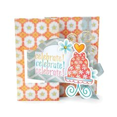 Sizzix Movers & Shapers L Die by Stephanie Barnard - Card, Ornate Flip-its