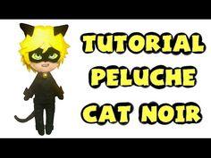 Cómo hacer un peluche de Cat Noir - Tutorial Miraculous Ladybug