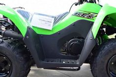 New 2017 Kawasaki KFX 90 ATVs For Sale in Arkansas. 2017 Kawasaki KFX 90, 2017 Kawasaki KFX® 90 THE KAWASAKI DIFFERENCE THE KFX®90 ATV PROVIDES THE IDEAL BLEND OF SIZE AND PERFORMANCE FOR RIDERS 12 AND OLDER THAT ARE STEPPING-UP FROM A 50cc ATV OR JUST GETTING STARTED. 89cc 4-stroke engine and automatic transmission delivers broad power delivery with plenty of usable torque Push button electric start provides simple and reliable starting Parental controls such as an adjustable throttle…