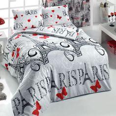 3d Paris CUBIERTA DE EDREDÓN precioso Edredón doble de 4 un.% 100 Algodón Regalos De Navidad in Casa y jardín, Ropa de cama, Fundas y juegos de edredones de plumas   eBay