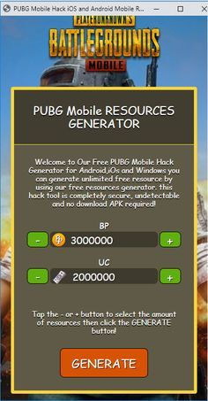Pubg mobile hacking tool methods updated PUBG Hacks For Android, IOS and PC. How to Get Unlimited BP No Survey No Verification pubg mobile hack. PUBG Mobile Hack UC (Unknown Cash) and BP (Battle Point). It's easy to get & working Mobile Generator, Ios, Pool Hacks, App Hack, Gaming Tips, Android Hacks, Magic Bullet, Mobile Legends, Hack Online