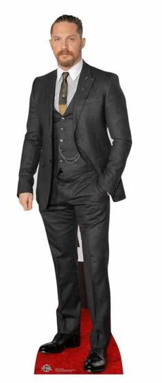 cardboard cutouts cheap cool 8 best life size celebrity cardboard cutout deals uk images of cardboard cutouts cheap Grey 3 Piece Suit, 3 Piece Suits, Hollywood Party, Hollywood Actor, Cardboard Design, Uk Images, Tom Hardy, Toms, Suit Jacket