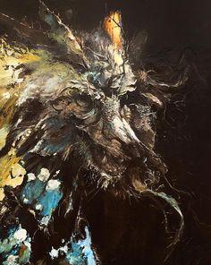 Adam Burke #bleaq #painting