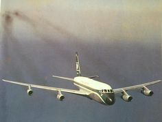 This great photo is of the first Cathay Pacific Convair 880 in its fleet, VR-HFS. Loving the smoke trails !