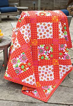 Tropical Garden Easy Quilt Project