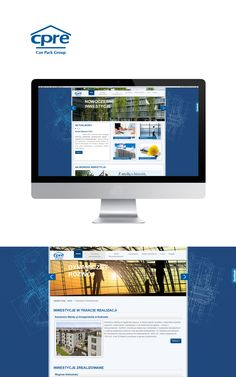 #website #Cpre by #Admind Creative Agency #Crakow www.cpre.pl