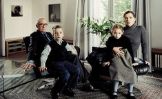 Thomas Struth, The Richter Family Cologne, Silver dye bleach print, face-mounted to acrylic, image: 40 x 63 inches x cm); sheet: 53 x 76 inches x cm) History Of Photography, School Photography, Portrait Photography, Westerns, Museums In Nyc, Gerhard Richter, Photoshop, Cinema, Museum Exhibition