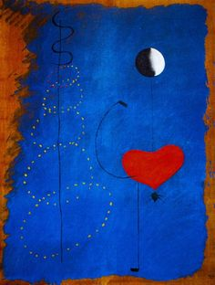 Joan Miró - Surrealism & Abstraction - Danseuse II - 1925
