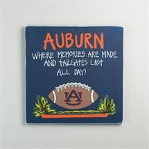 Glory Haus Auburn Tailgate Sign Officially Licensed auburnloveitshowit.com