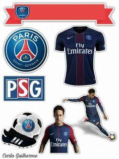 Paris San German, Bolo Paris, Soccer Birthday Cakes, Neymar Psg, Lol Doll Cake, Paris Saint, Lol Dolls, Saint Germain, Cake Toppers