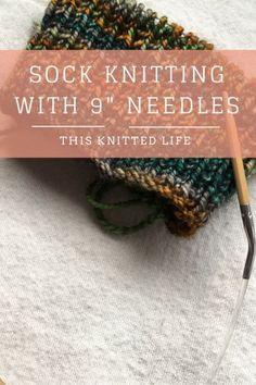 Knitting Socks With Nine Inch Needles