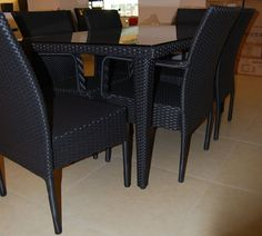 FP0032 6-seater Outdoor Dining Set