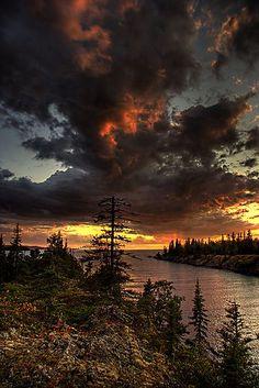 Amygdaloid Island, Isle Royale National Park, Michigan; photo by Carl TerHaar