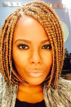 Extra Cool Short Box Braids | Hairstyles 2015, Hair Colors and Haircuts