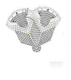 New Crochet Lace Doily Pattern Charts Ideas Crochet Christmas Decorations, Crochet Ornaments, Christmas Crochet Patterns, Holiday Crochet, Crochet Doily Patterns, Crochet Chart, Crochet Doilies, Crochet Lace, Crochet Kids Scarf