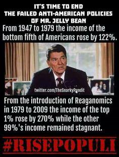 Like Trump Regan was an actor