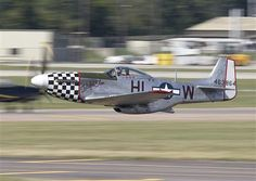 North American P-51 Mustang fighter, Tail No. 463864.