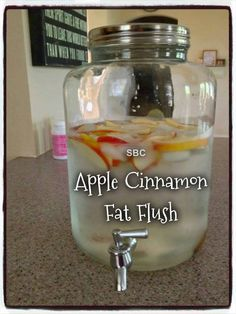 Healthy Fit - print Out of all the Water recipes I have posted, this is the all time favorite. APPLE CINNAMON FAT FLUSH Boost your metabolism naturally with this ZERO CALORIE Detox Drink. Put down the diet sodas and crystal light and…Read more → Apple Cinnamon Water, Apple Water, Cinnamon Apples, Cinnamon Sticks, Cinnamon Drink, Ground Cinnamon, Detox Drinks, Healthy Drinks, Healthy Recipes