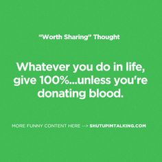 Give it Your All! http://shutupimtalking.com/give-it-your-all/
