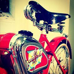 """The start of Ducati Motor post WWII"" - Instagram by @poohstraveler"