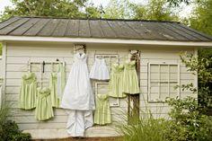 Southern Wedding Light Green Bridesmaid Dresses
